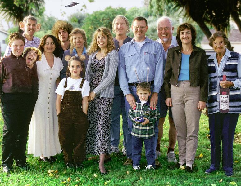 My family portrait - Spring, 1998