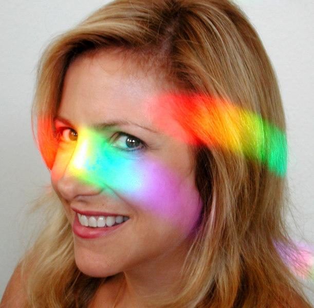 Rainbow Face XinaCat