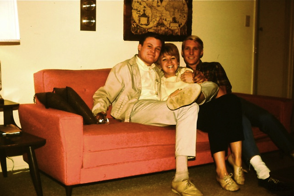 Harold, Patti & Ted Hoffman<br /> 1968?