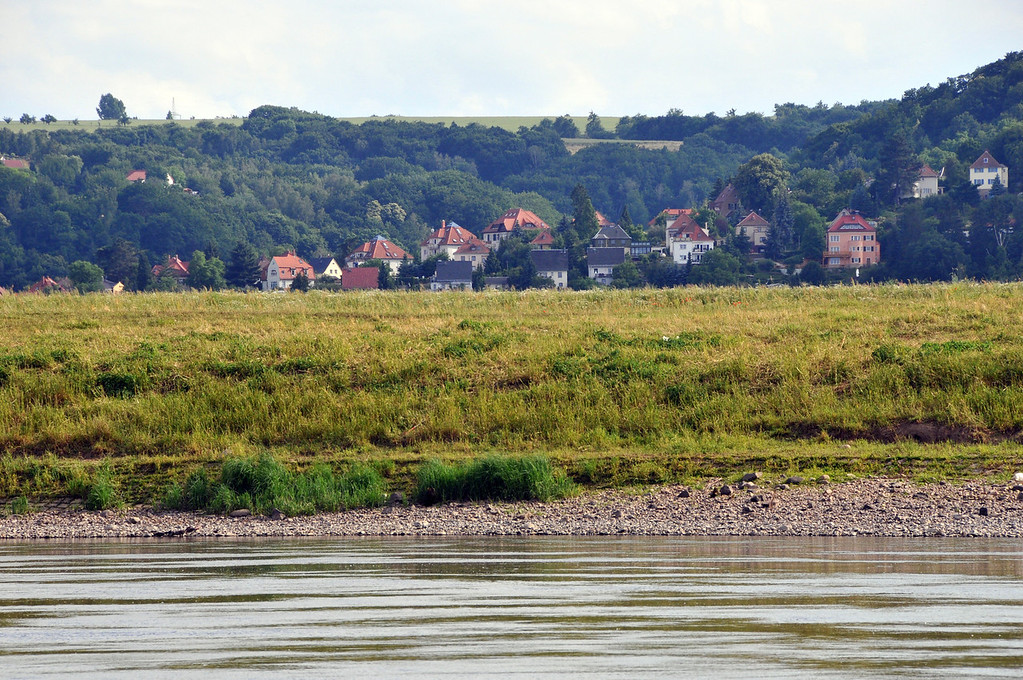 The River Elbe Near Dresden, Germany