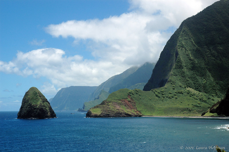 Kalawao, Previous Home to the Leper Colony on Molokai, Hawaii