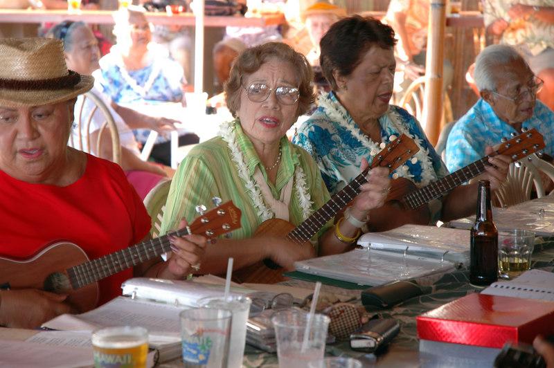 Kapuna Ladies, Molokai, Hawaii