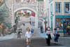 Quebec City's Mural (Trompe-L'oeil)<br /> 5 stories high, the Quebec City Mural<br /> depicts some notable people in Quebec history such as:<br /> François de Montmorency-Laval, Louis-Joseph Papineau, François-Xavier Garneau, Jacques Cartier,<br /> Jean Talon, Comte de Frontenac, Louis Jolliet, Samuel de Champlain, Lord Dufferin, Felix Leclerc<br /> <br /> Québec City, Québec Canada
