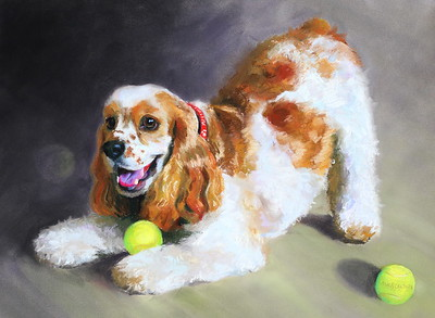 """Gunnar""  23""X17"" Pastels on Paper 2011"