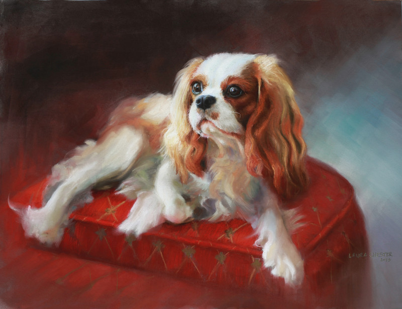 """Madison""<br /> Pastel on Canson<br /> 25.5""x 19.5"""
