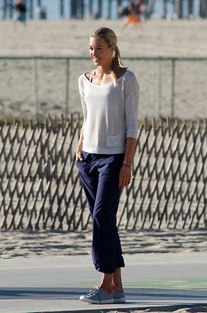 Lauren Collins seen in Santa Monica