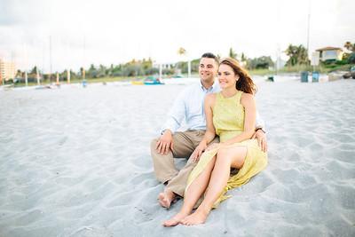 Lauren + Patrick   Delray Beach Engagement