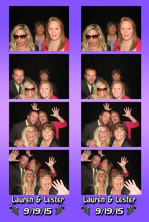 Lauren and Lester's Wedding 9-19-15