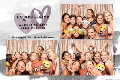 Lauren & Nick's Wedding Photo Booth