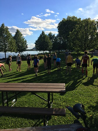 Bell Park Workout - Sept 14, 2016