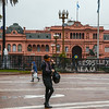 Government House (Pink Palace), Plaza de Mayo,