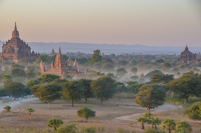 Bagan, mist and mystery