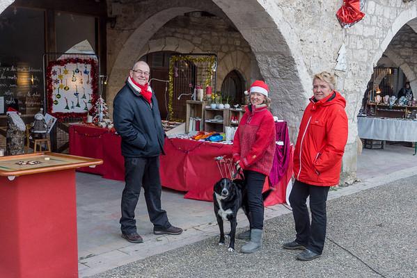 Lauzerte Christmas Market 2016
