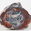 """#0350 Thunder Egg, Lava Cap Claim, Little Florida Mtns., Deming, New Mexico USA<br /> This crazy agate is fun! It goes from one explosive event to the next climbing from the bottom to the top. Of course it's also a thing of beauty and a handbook of thunderegg events... amazing.<br /> 3 1/2 x 2 3/4 x 1 1/8"""" 0.38 lb<br /> All agates in the Sample Gallery have been sold."""
