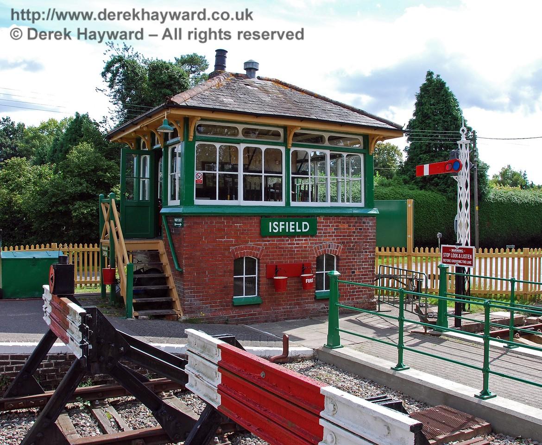 Isfield signal box. 02.09.2007