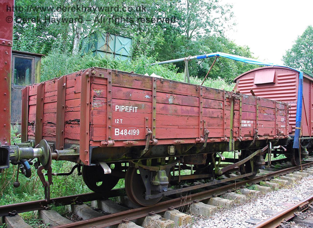Pipefit wagon B484199 (stock list 92946). Isfield 02.09.2007