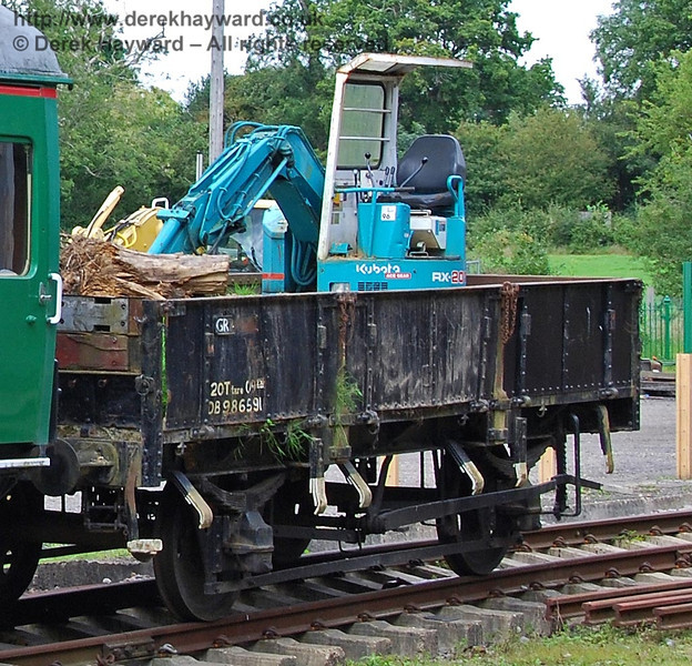Wagon DB986591. Isfield 02.09.2007