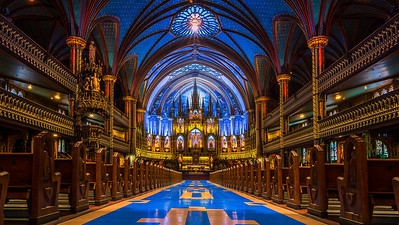 Notre Dame Cathedral Basilica of Montreal