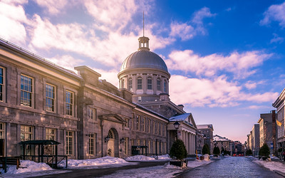 Bonsecours Market in Old Montreal