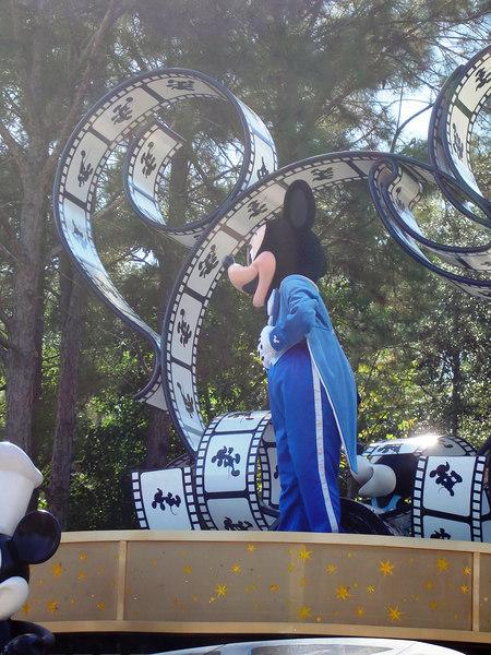 El desfile en Magic Kingdom. Orlando, Florida Octubre 2006