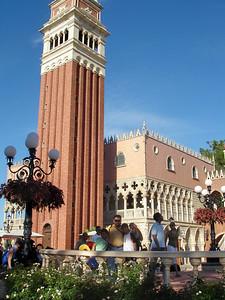 paseando ahora por Venecia