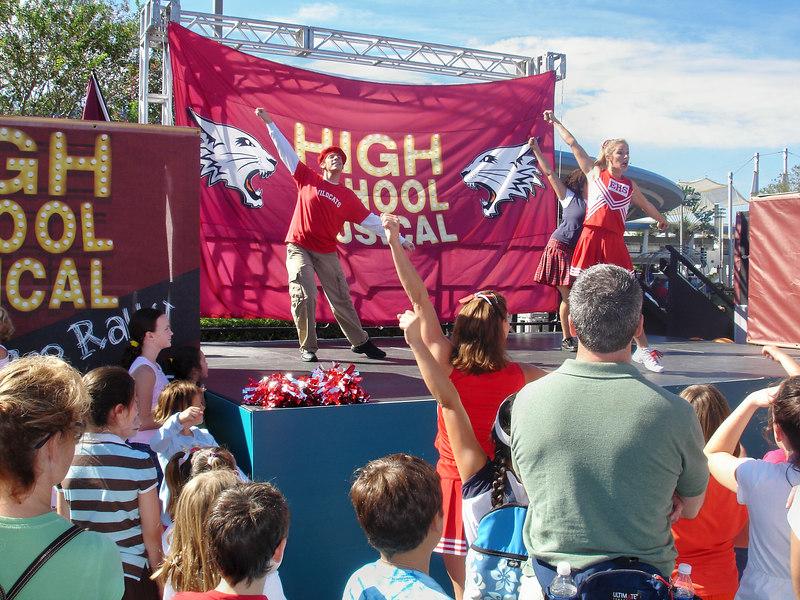 High School Musical Magic Kingdom Orlando, Florida