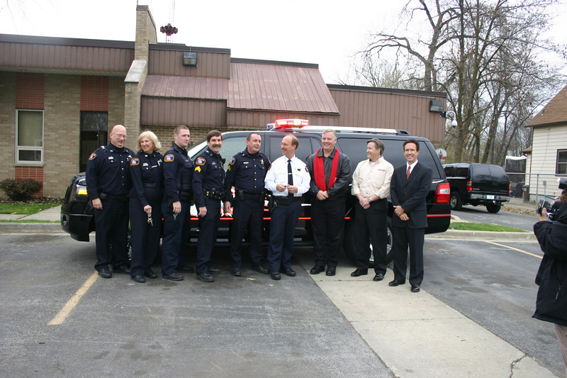 East Eagle Crest, IL, PD and their new Truck