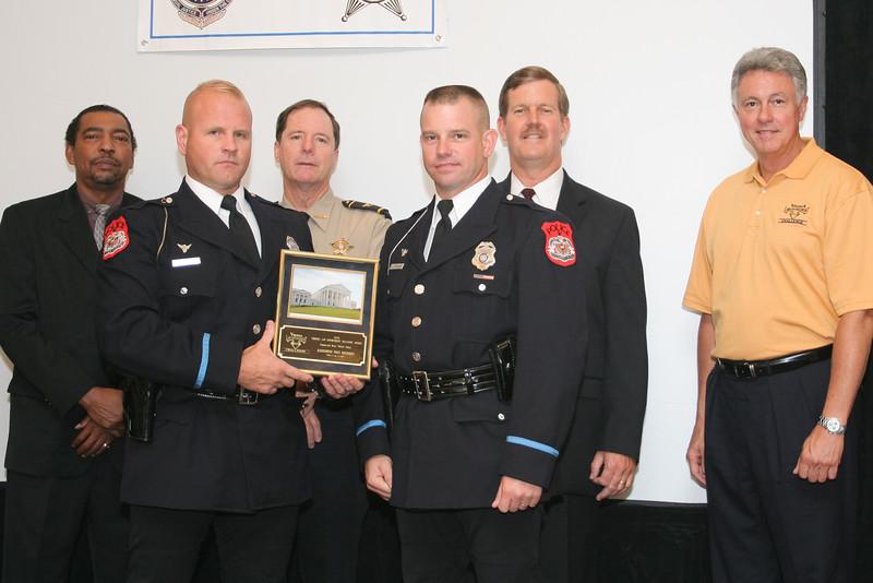 <b>IMG_70281</b><br>Commercial Motor Vehicle Safety Awareness Award: Harrisonburg Police Department