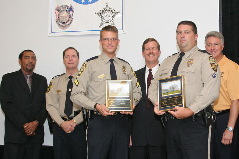 <b>IMG_70263</b><br>2nd Place, Municipal 5 (76-125 Officers) & Speed Awareness Award: Albemarle County Police Department