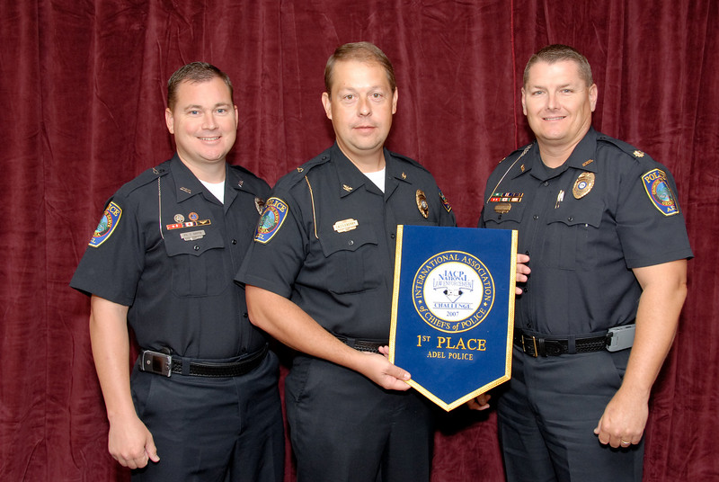 2006 National Law Enforcement Challenge --<br /> 1st Place, Municipal 2 (11-25 Officers): Adel (GA) Police Department