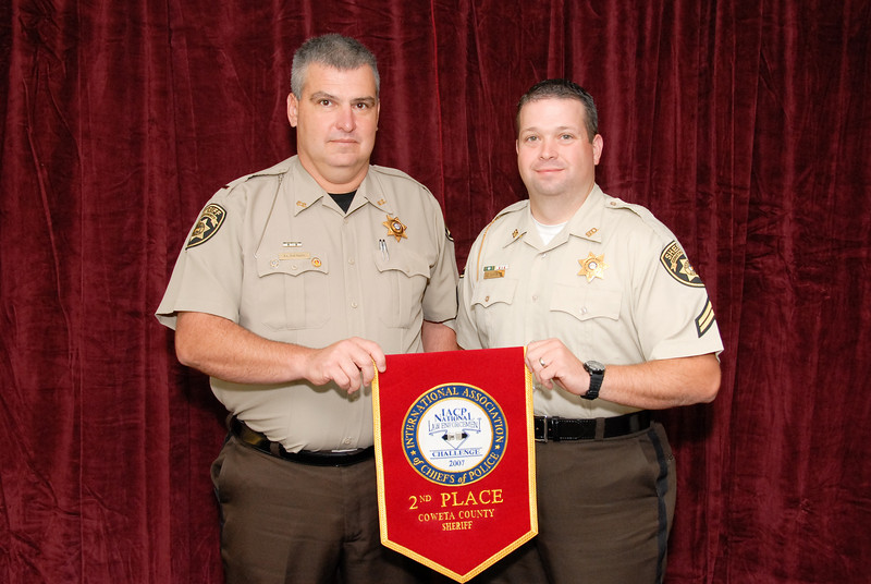 2006 National Law Enforcement Challenge --<br /> 2nd Place, Sheriff 6(101-250 Deputies): Coweta County (GA) Sheriff's Office