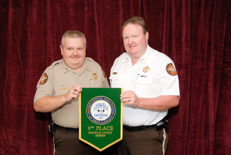 2006 National Law Enforcement Challenge --<br /> 3rd Place, Sheriff 2 (11-25 Deputies): Franklin County (GA) Sheriff's Office