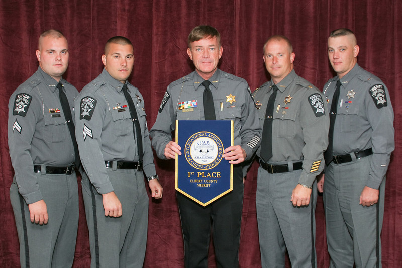2006 National Law Enforcement Challenge --<br /> 1st Place, Sheriff 3 (26-35 Deputies): Elbert County (GA) Sheriff's Office