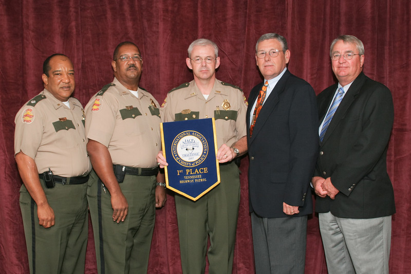 2006 National Law Enforcement Challenge --<br /> 1st Place, State Police/Highway Patrol 3 (501-1,000 Officers): Tennessee Highway Patrol