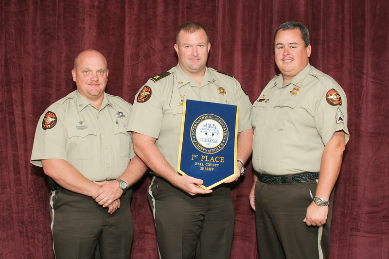 2006 National Law Enforcement Challenge --<br /> 1st Place, Sheriff 7 (251-500 Deputies): Hall County (GA) Sheriff's Office