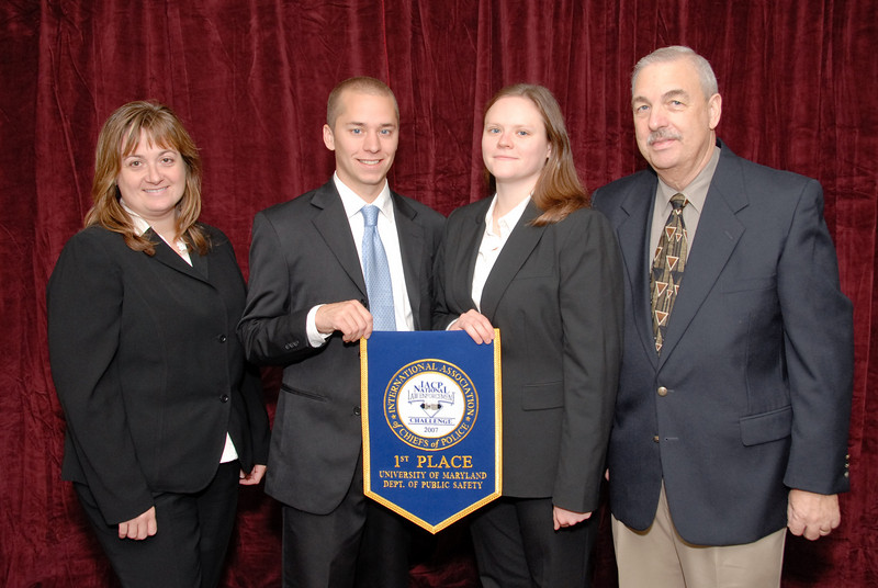 2006 National Law Enforcement Challenge --<br /> 1st Place, University Police 2 (41+ Officers): University of Maryland Department of Public Safety