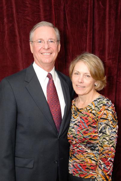 Assistant Chief (Ret.) Larry D. Ball, Executive Director, Kentucky Law Enforcement Coucil & Mrs. Ball