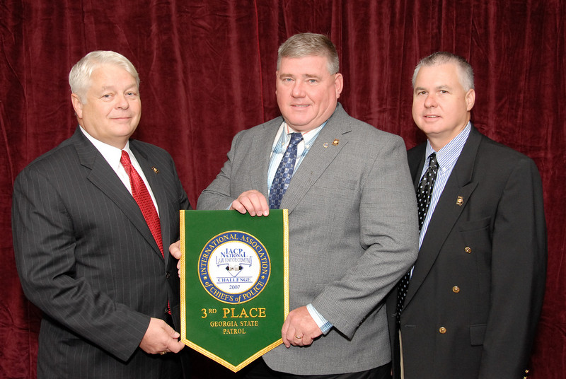 2006 National Law Enforcement Challenge --<br /> 3rd Place, State Police/Highway Patrol 3 (501-1,000 Officers): Georgia State Patrol