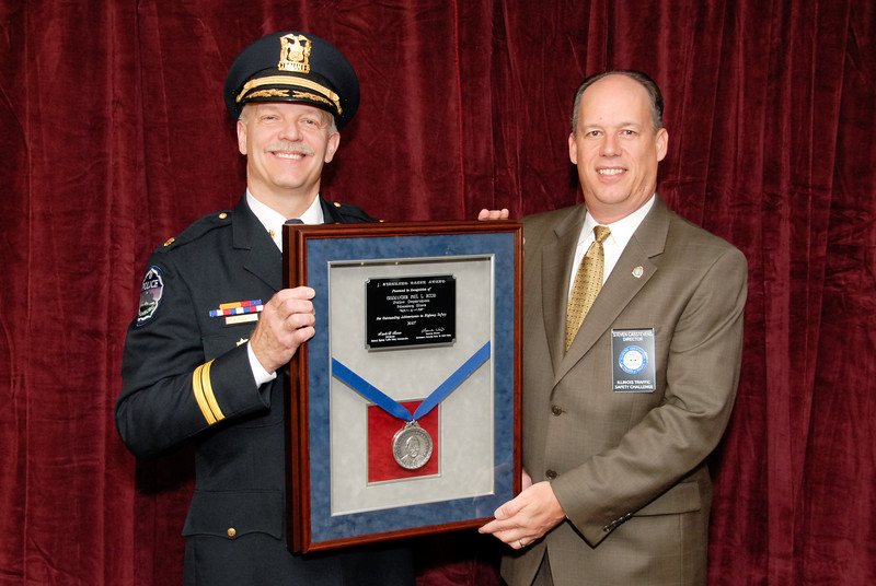 2007 J. Stannard Baker Award --<br /> Commander Paul L. Rizzo, Schaumburg (IL) Police Department