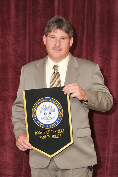 "2006 National Law Enforcement Challenge --<br /> ""Rookie of the Year Award"" for Best First-Time Entry: Benton (TN) Police Department"