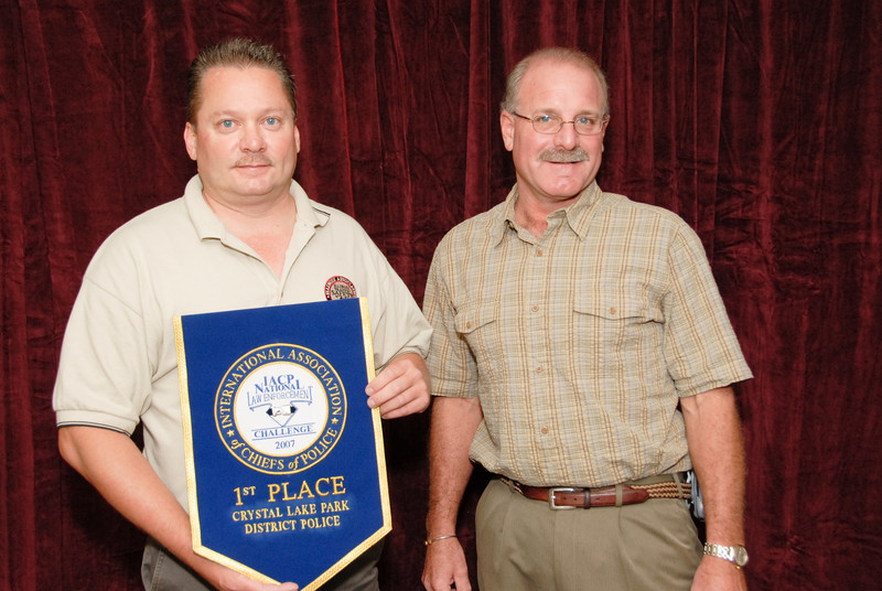 2006 National Law Enforcement Challenge --<br /> 1st Place, Special Law Enforcement Agency: Crystal Lake Park District Police (IL)
