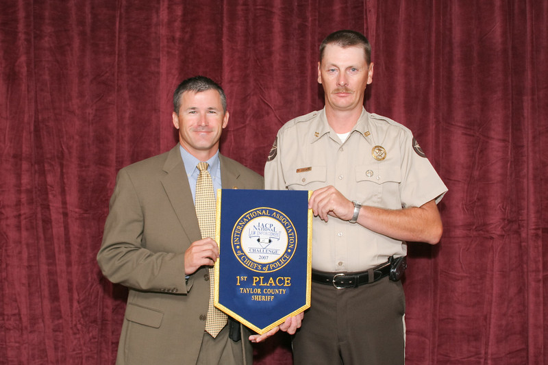 2006 National Law Enforcement Challenge --<br /> 1st Place, Sheriff 1 (1-10 Deputies): Taylor County (GA) Sheriff's Office