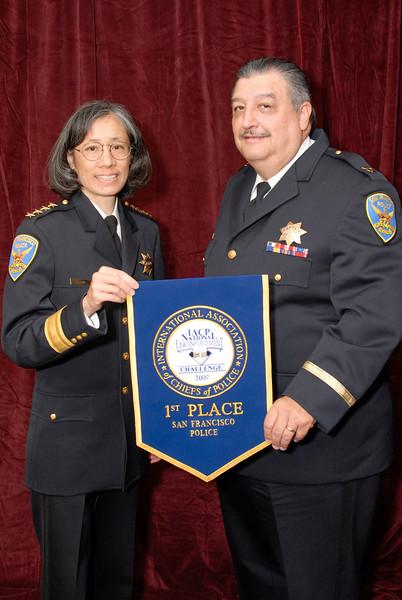 2006 National Law Enforcement Challenge --<br /> 1st Place, Municipal 9 (1,001-2,000 Officers): San Francisco (CA) Police Department