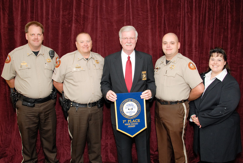 2006 National Law Enforcement Challenge --<br /> 1st Place, Sheriff 4 (36-50 Deputies): White County (GA) Sheriff's Office