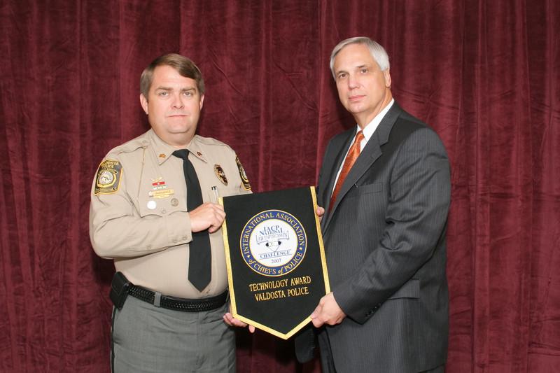 2006 National Law Enforcement Challenge --<br /> Technology Award: Valdosta (GA) Police Department