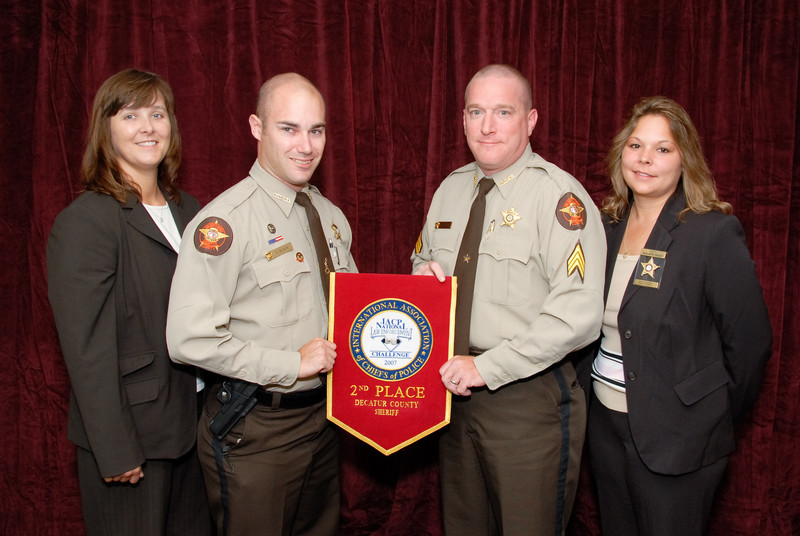 2006 National Law Enforcement Challenge --<br /> 2nd Place, Sheriff 3 (26-35 Deputies): Decatur County (GA) Sheriff's Office