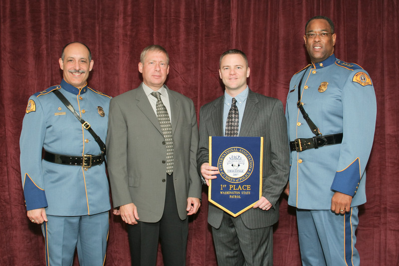 2006 National Law Enforcement Challenge --<br /> 1st Place, State Police/Highway Patrol 4 (1,001-2,500 Officers): Washington State Patrol