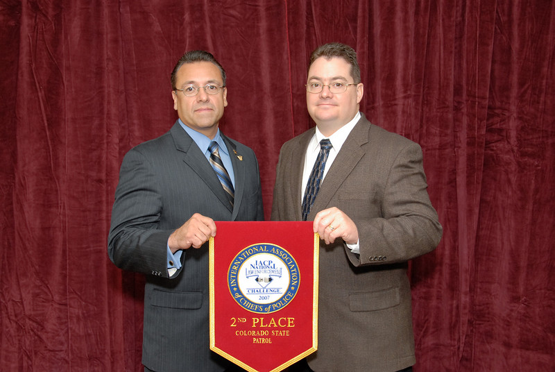 2006 National Law Enforcement Challenge --<br /> 2nd Place, Championship Class: Colorado State Patrol