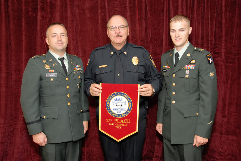 2006 National Law Enforcement Challenge --<br /> 2nd Place, Military Law Enforcement: Fort Campbell (KY) Police