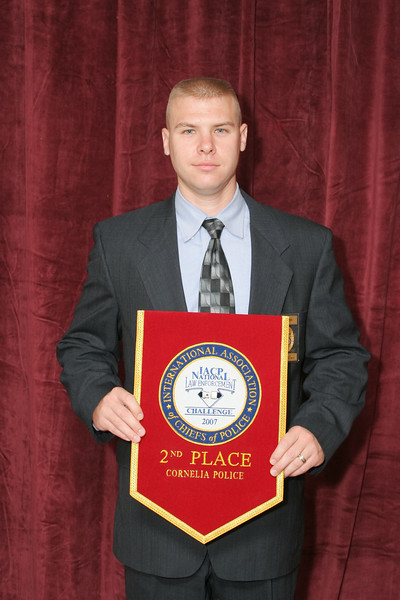 2006 National Law Enforcement Challenge --<br /> 2nd Place, Municipal 2 (11-25 Officers): Cornelia (GA) Police Department